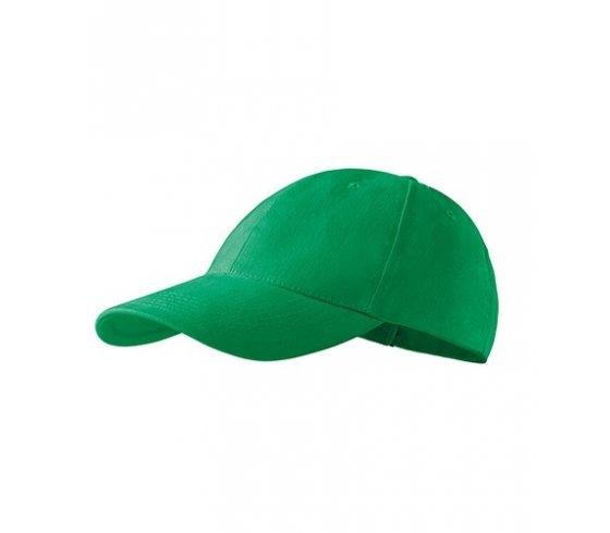 6P Sapka unisex, állitható méret, fűzöld szín
