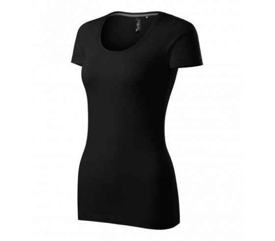 Action Póló női, M méret, fekete szín