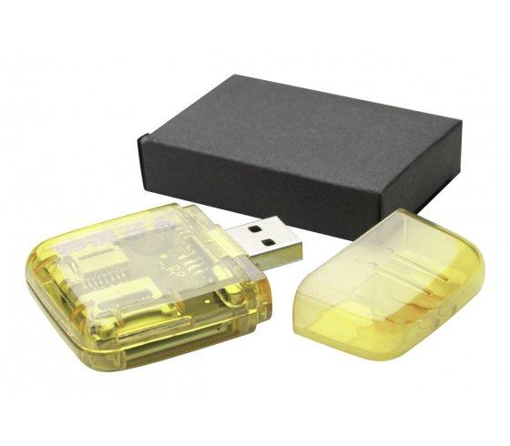 Ares kártyaolvasó, sárga szín