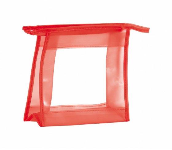 Aquarium kozmetikai táska, piros szín