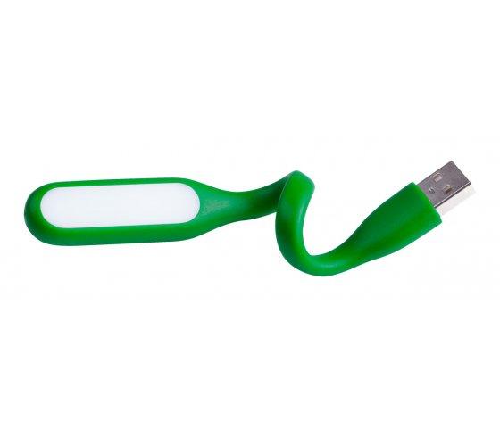 Anker USB lámpa, zöld / fehér szín