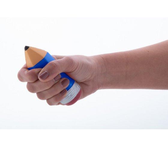 Arkatza stresszlabda, kék szín