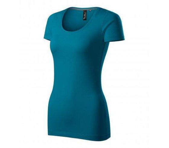 Action Póló női, M méret, petrol kék szín