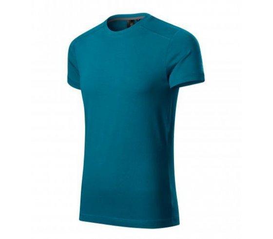 Action Póló férfi, XL méret, petrol kék szín
