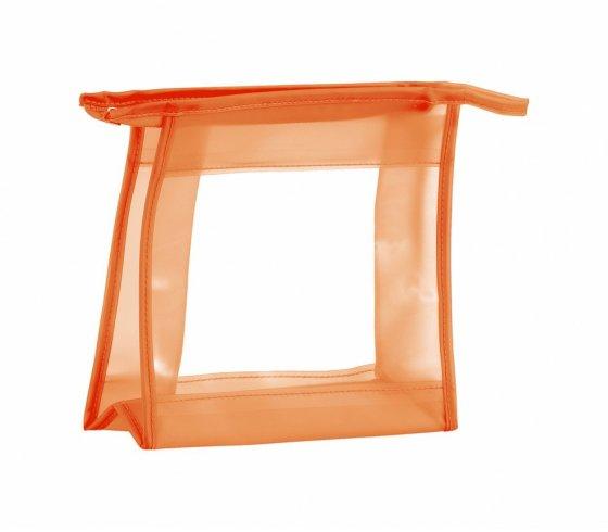 Aquarium kozmetikai táska, narancssárga szín
